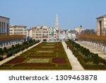 brussels  belgium   april 4th... | Shutterstock . vector #1309463878