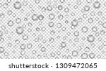 translucent bubbles or water... | Shutterstock .eps vector #1309472065