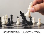 plan leading strategy of... | Shutterstock . vector #1309487902
