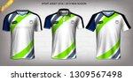 soccer jersey and t shirt sport ... | Shutterstock .eps vector #1309567498