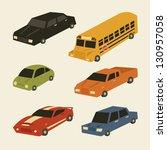 transportation   Shutterstock .eps vector #130957058