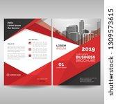business brochure cover... | Shutterstock .eps vector #1309573615