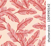 abstract color seamless vector... | Shutterstock .eps vector #1309590142