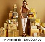 full length portrait of smiling ... | Shutterstock . vector #1309606408