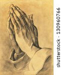 Two Hands In Prayer Pose....