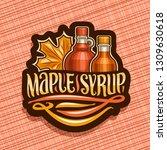 vector logo for maple syrup ... | Shutterstock .eps vector #1309630618