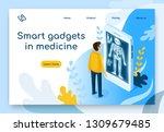 smart gadget in medicine... | Shutterstock .eps vector #1309679485