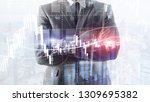 forex trading  financial market ...   Shutterstock . vector #1309695382
