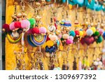thailand colorful key chain  | Shutterstock . vector #1309697392