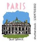 Image Of The Opera Garnier In...