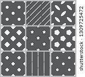 a set of geometric stroke...   Shutterstock .eps vector #1309725472