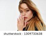sexy woman portrait             ... | Shutterstock . vector #1309733638