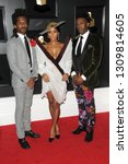 Small photo of LOS ANGELES - FEB 10: Chuck Lightening, Janelle Monae, Nate Wonder at the 61st Grammy Awards at the Staples Center on February 10, 2019 in Los Angeles, CA
