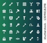 repair icon set. collection of...   Shutterstock .eps vector #1309818298