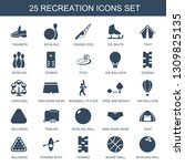 recreation icons. trendy 25... | Shutterstock .eps vector #1309825135
