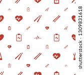 beat icons pattern seamless... | Shutterstock .eps vector #1309831618