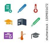 degree icons. trendy 9 degree... | Shutterstock .eps vector #1309831672