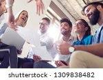 successful business group... | Shutterstock . vector #1309838482