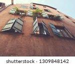 image of beautiful vintage... | Shutterstock . vector #1309848142