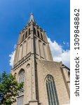 spire of the historic martini... | Shutterstock . vector #1309848862