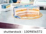 mousse cake master class.... | Shutterstock . vector #1309856572