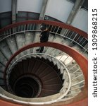 hidden spiral stair | Shutterstock . vector #1309868215