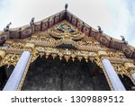 view of the grand palace and...   Shutterstock . vector #1309889512