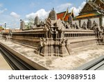 view of the grand palace and...   Shutterstock . vector #1309889518