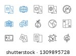 continent icons set. collection ...   Shutterstock .eps vector #1309895728