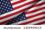 united states and united states ... | Shutterstock . vector #1309909015