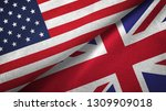 united states and united... | Shutterstock . vector #1309909018