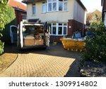 self employed builder van with... | Shutterstock . vector #1309914802