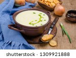 traditional cream vegetable... | Shutterstock . vector #1309921888