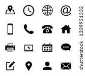 web icons set. web design icon. ... | Shutterstock .eps vector #1309931332