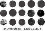 big collection of grunge post... | Shutterstock .eps vector #1309931875