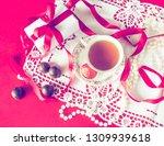 valentine's day  romantic... | Shutterstock . vector #1309939618