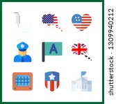 9 government icon. vector...   Shutterstock .eps vector #1309940212
