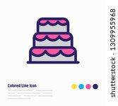illustration of dessert icon... | Shutterstock . vector #1309955968