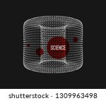 cylinder. detail of the... | Shutterstock .eps vector #1309963498
