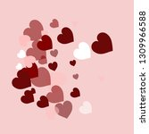 happy valentines day  sweet... | Shutterstock .eps vector #1309966588