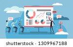 presentation vector... | Shutterstock .eps vector #1309967188
