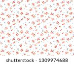 seamless floral pattern for... | Shutterstock .eps vector #1309974688
