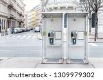 Pair Of Payphone Booth In...