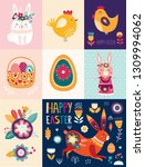 vector illustration with cute... | Shutterstock .eps vector #1309994062