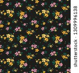 simple cute pattern in small... | Shutterstock .eps vector #1309996138