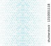 triangle halftone pattern ... | Shutterstock .eps vector #1310001118
