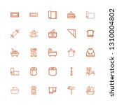 editable 25 towel icons for web ... | Shutterstock .eps vector #1310004802