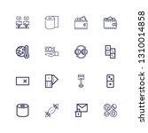 editable 16 change icons for... | Shutterstock .eps vector #1310014858