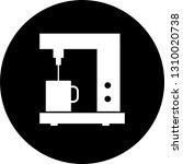 vector coffee maker icon  | Shutterstock .eps vector #1310020738