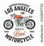 los angeles motorcycle... | Shutterstock .eps vector #1310047732
